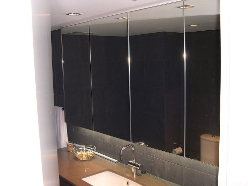 Mirrors perth bathroom beveled gym