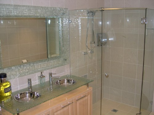 Mirrors perth bathroom beveled gym